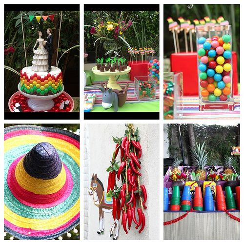 Mexican Theme Bridal Shower