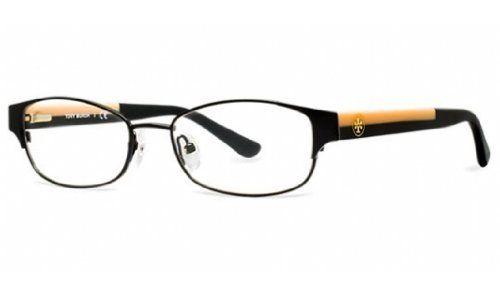 TORY BURCH Eyeglasses TY 1037 3009 Black Cream 52MM >>> Check this ...