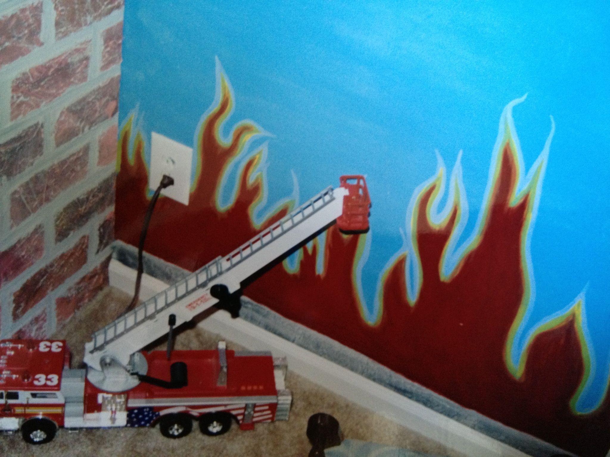 Firetruck bedroom
