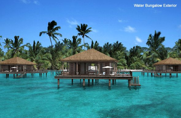 Beach Huts Caribbean Water Bungalow