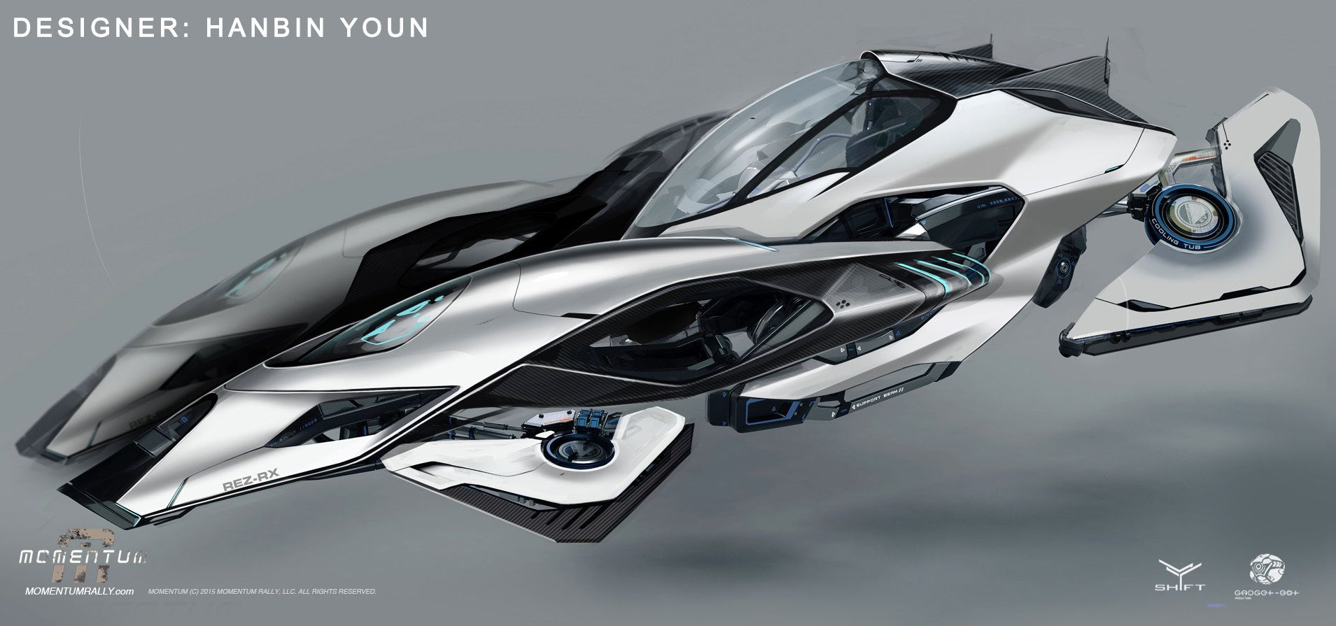 Futuristic Flying Car Game