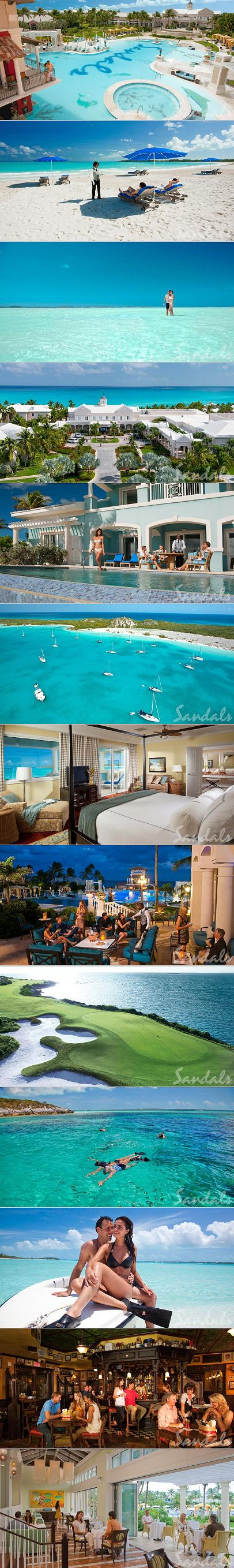 The top caribbean resorts for couples sandals emerald bay for Best caribbean honeymoon resorts
