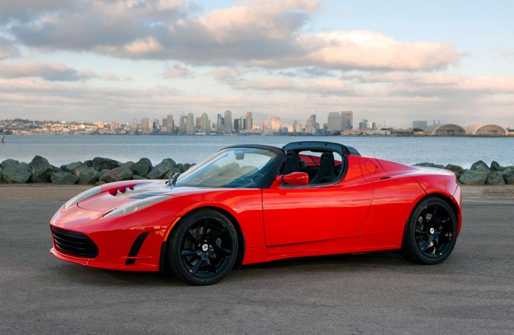 Tesla Roadster Convertible Red Hd Wallpaper Tesla Roadster Tesla Roadster Sport Roadsters