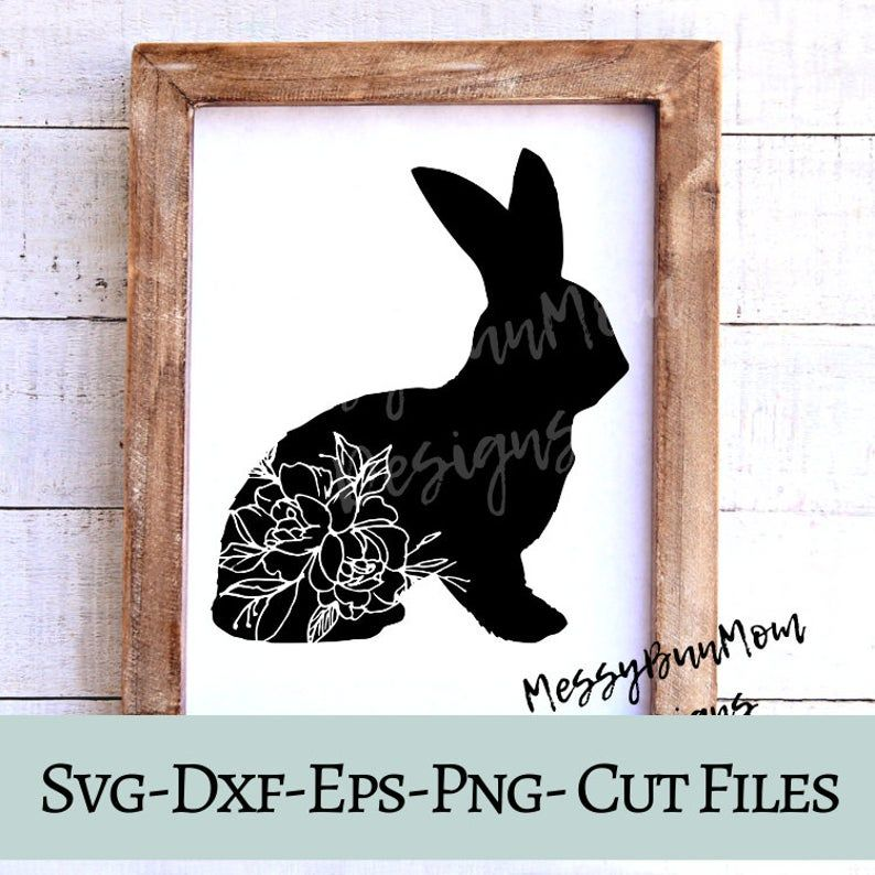 Easter Bunny Svg Easter Svg For Cricut Bunny Silhouette Svg Etsy In 2020 Bunny Silhouette Easter Svg Bunny Svg