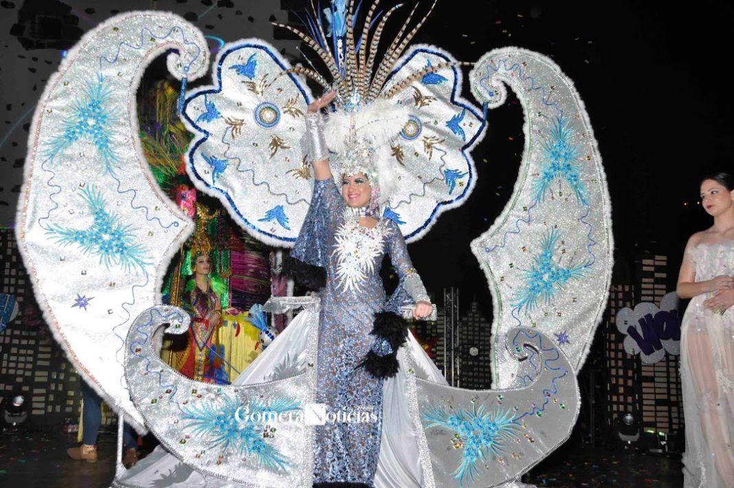 Grupo Mascarada Carnaval: Carla María Herrera, Reina del Carnaval de San Seb...