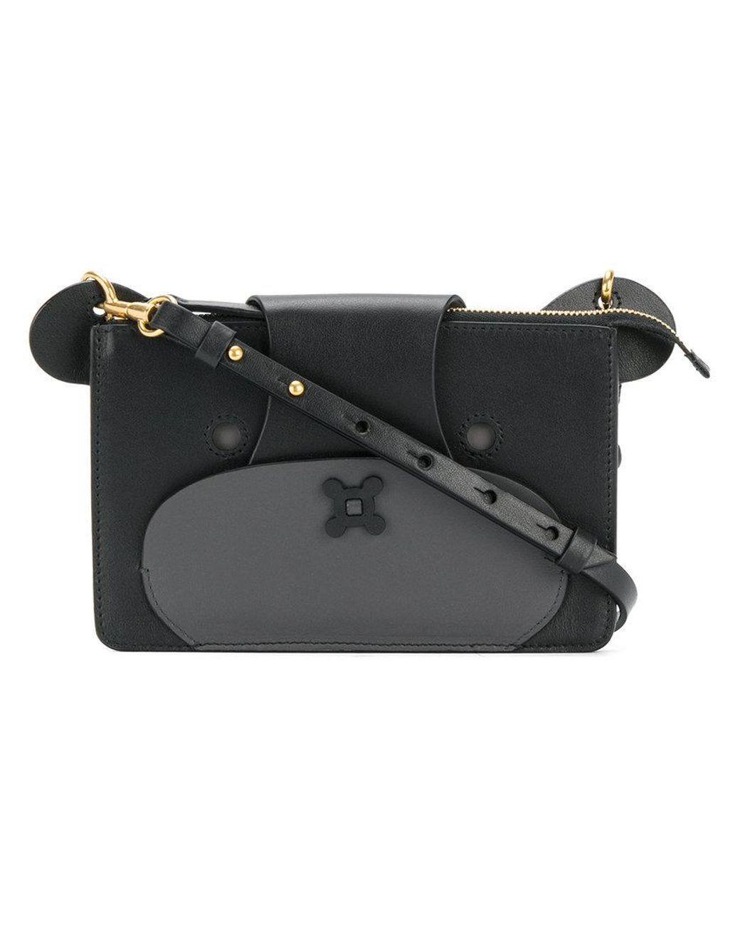 155284f1db84 Women's Black Bear Cross-body Bag   Shaped Bags   Crossbody bag ...