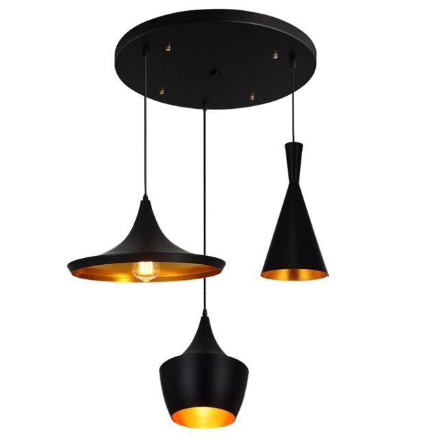 BDBQBL 3 Stuks/set Vintage Hanglampen LOFT Lamp Avize Nordic ...