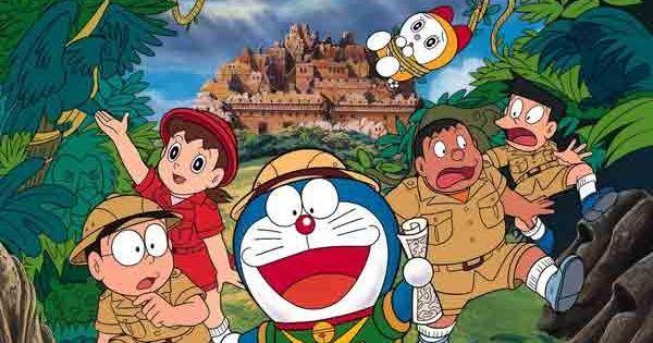 Wallpaper Doraemon Hitam Keren