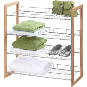 4-Tier Wire Shelf