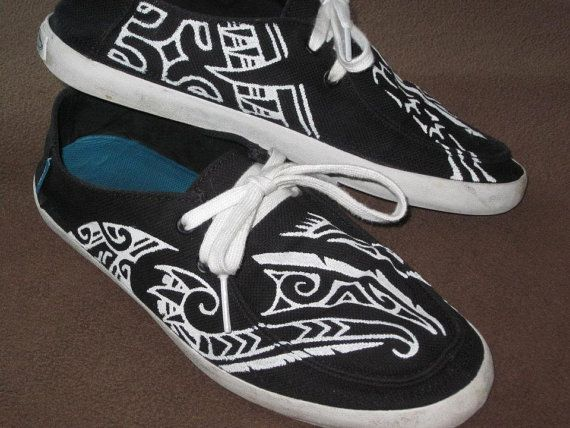 c47c8399cc Polynesian inspired custom designed vans shoes by lionsink on etsy fab cute  also joslyn maea joslynmaea