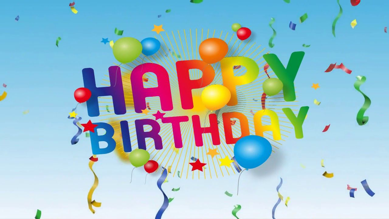 Happy Birthday To You Most Popular Version Happy Birthday Ecard Happy Birthday Fun Birthday Wishes For Girlfriend