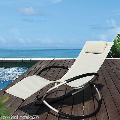 folding sun lounger bed outdoor patio set chair fold away space saving folding sun lounger bed outdoor patio set chair fold away space      rh   pinterest