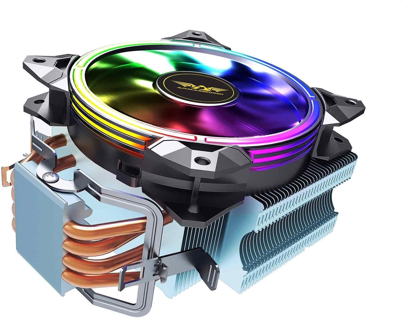 Buy Armaggeddon Artic Storm 3 Rgb R4 Cpu Cooler At Bestbuycyprus Com For 39 99 With Free Delivery Storm Cool Things To Buy Cooler