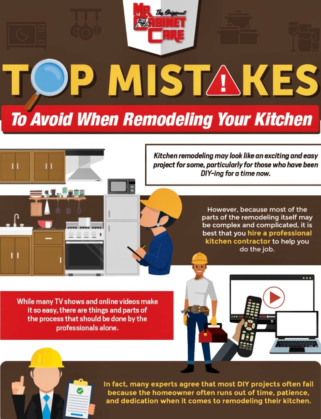 Avoid These Mistakes When Remodeling Your Kitchen Remodel Kitchen Remodel Kitchen Countertop Colors