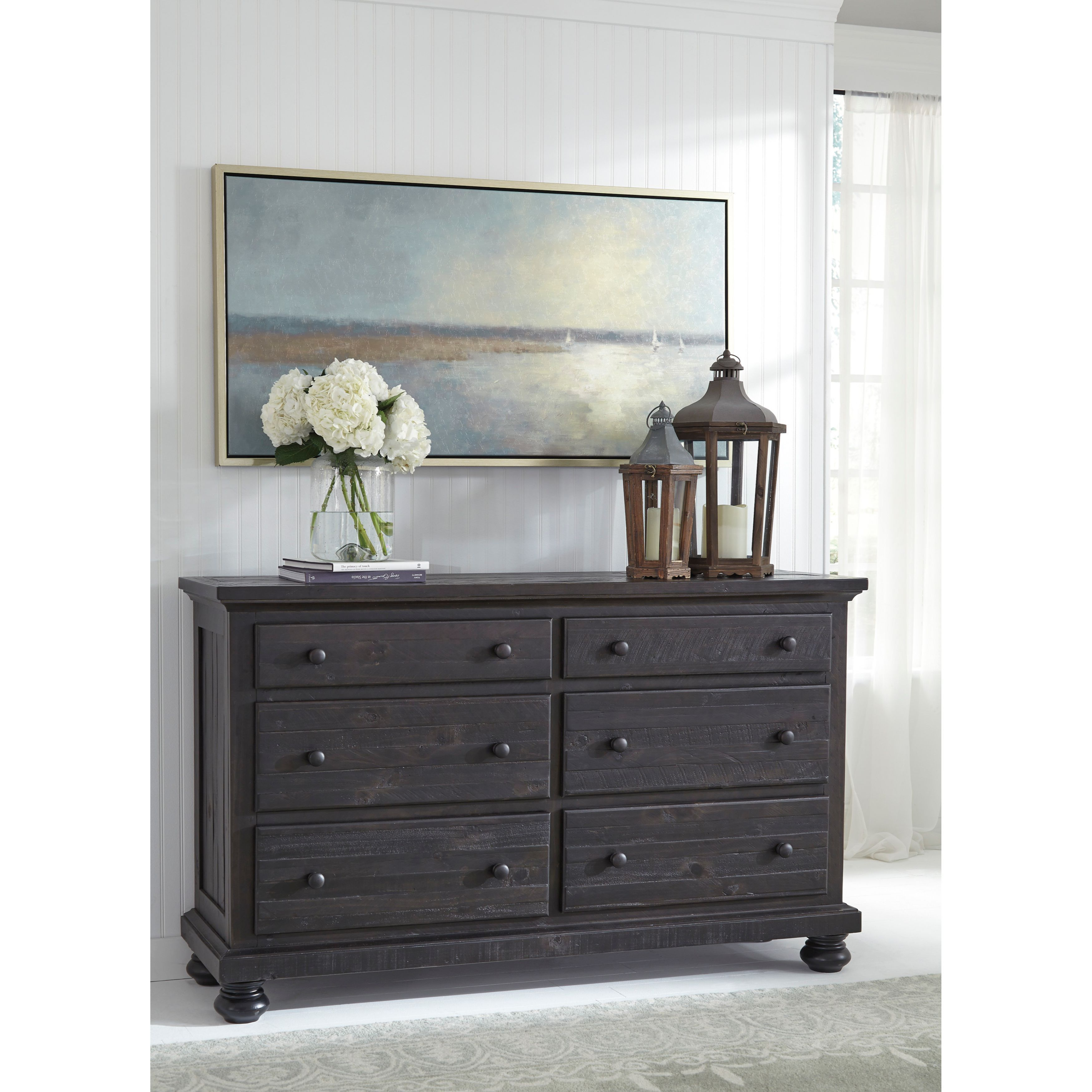 Signature Design By Ashley Sharlowe Charcoal Dresser Furniture Charcoal Bedroom Furniture Home Decor [ 3500 x 3500 Pixel ]
