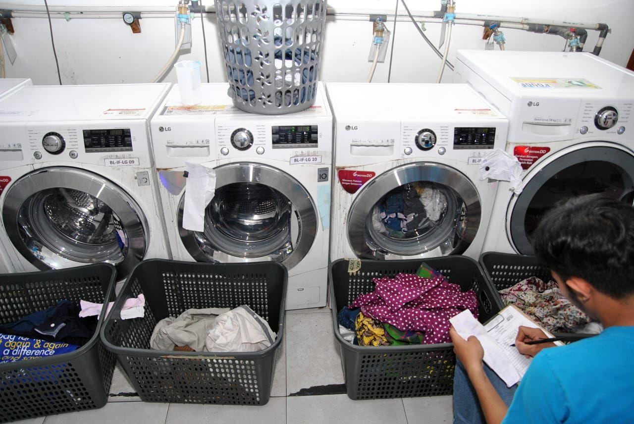 Pasca Libur Lebaran Cucian Di Jasa Laundry Alami Peningkatan