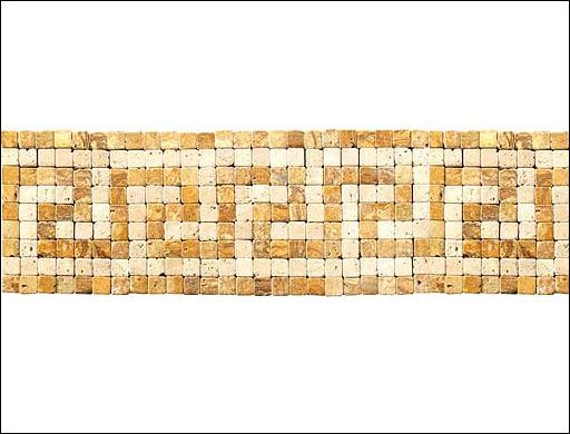 Stone Floor Tiles Specialists Roman Mosaic Stone Border Tile