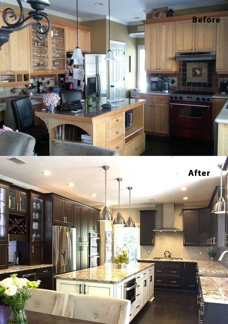 U Shaped Kitchen Remodel Ideas Before And After 75 kitchen design and remodelling ideas (before and after)