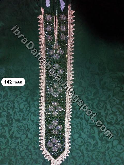 اللون الزيتي زاد جماله برشمة مرمة العقيق و الطرز في جلابة مغربية Jewelry Diamond Diamond Bracelet
