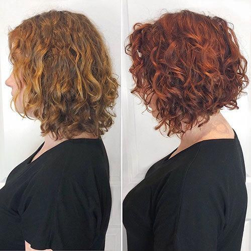 45 New Best Short Curly Hairstyles 2019 - 2020 # # #Curly ...