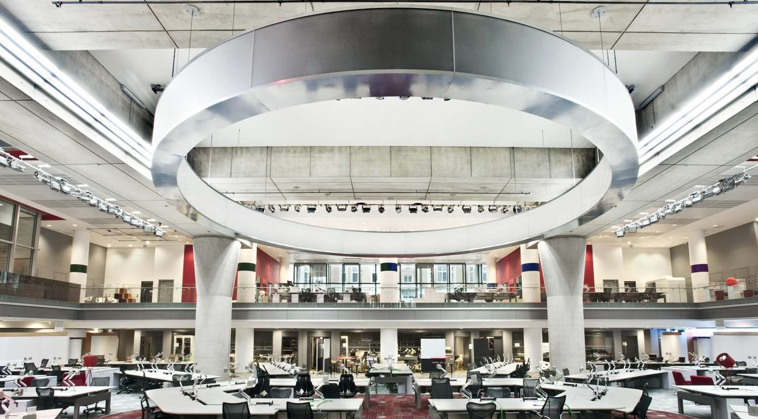 Fit Out of the Iconic BBC Broadcasting House Bbc world