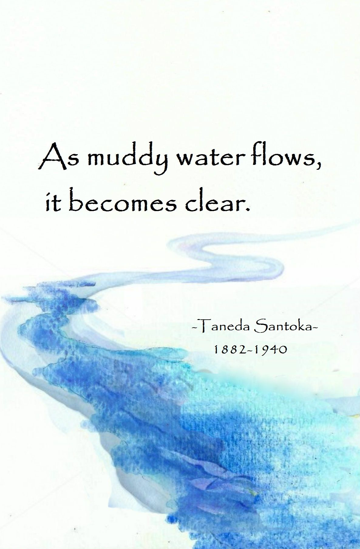 Quotes Zen Pinneela ♡ On zen Quotes ∞  Pinterest  Muddy