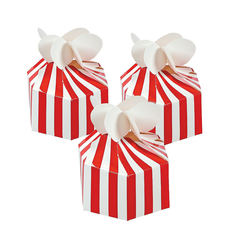 Carnival Favor Boxes - OrientalTrading.com | office ideas ...