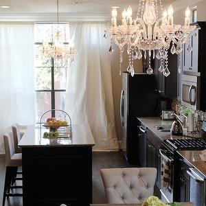 Veronika\'s Blushing - kitchens - glam kitchen, glamorous kitchen ...