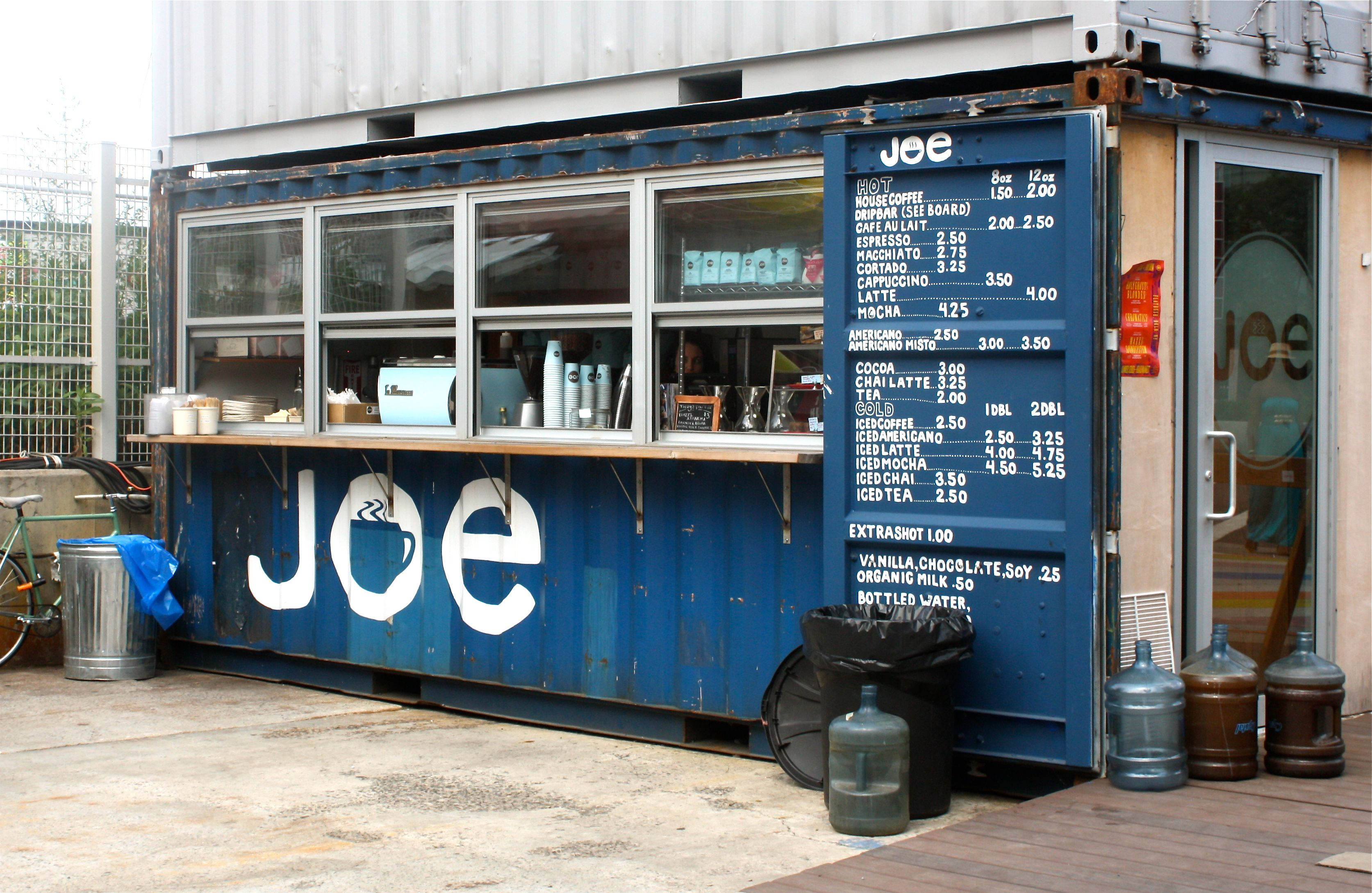 Grab the perfect iced latte joecofeenyc dekalbmarket joe is without a doubt one of the best - Container homes miami ...
