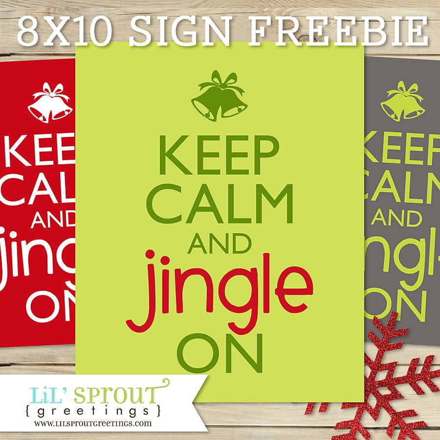 printable xmas sign freebie lilsproutgreetings Holiday Sign