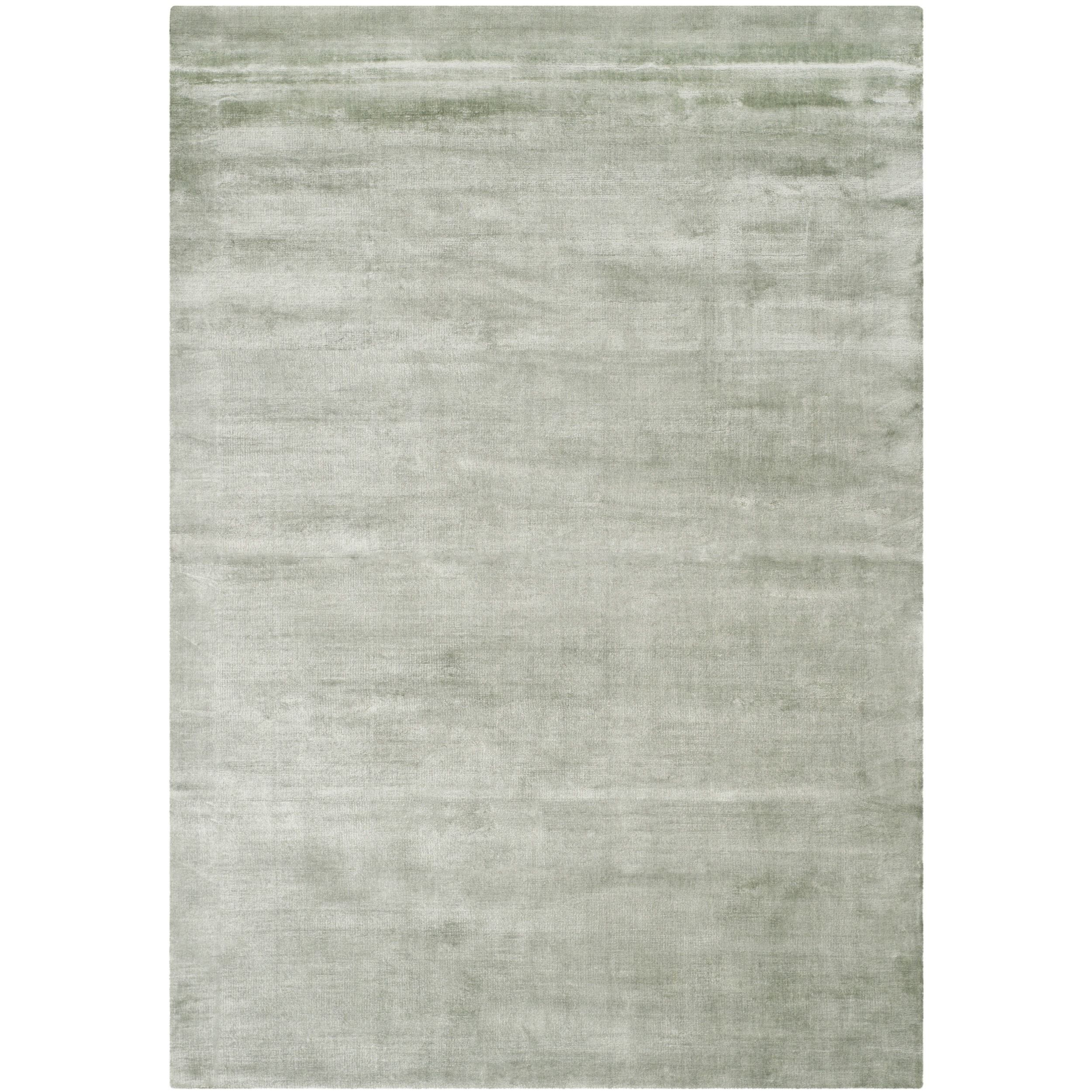Safavieh Loom Knotted Mirage Villa Blue Viscose Rug 8 X 10 Overstock Com Shopping The Best Deals On 7x9 10x14 Rugs Viscose Rug Rugs Solid Area Rugs
