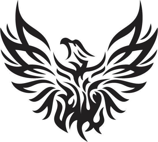Phoenix Custom Vinyl Sticker Decal Car By CustomStickerDecals - Car sticker decals custom
