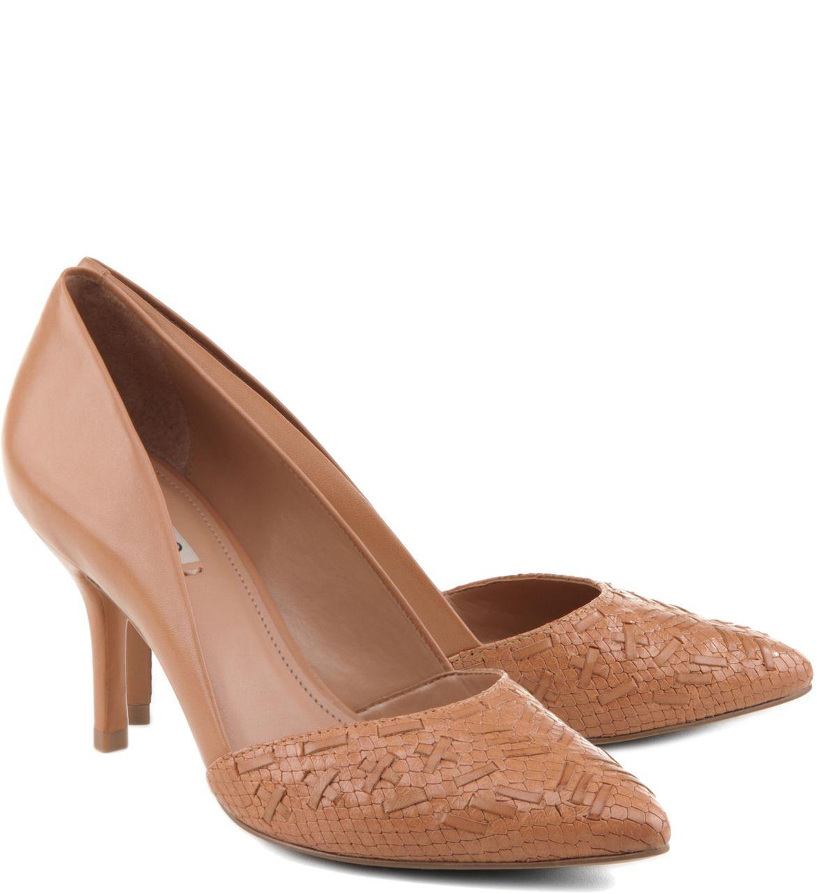 e9fdca2f6 Scarpin Tressê Snake Blush | Arezzo | Sapatos | Sapatos, Sapatos ...
