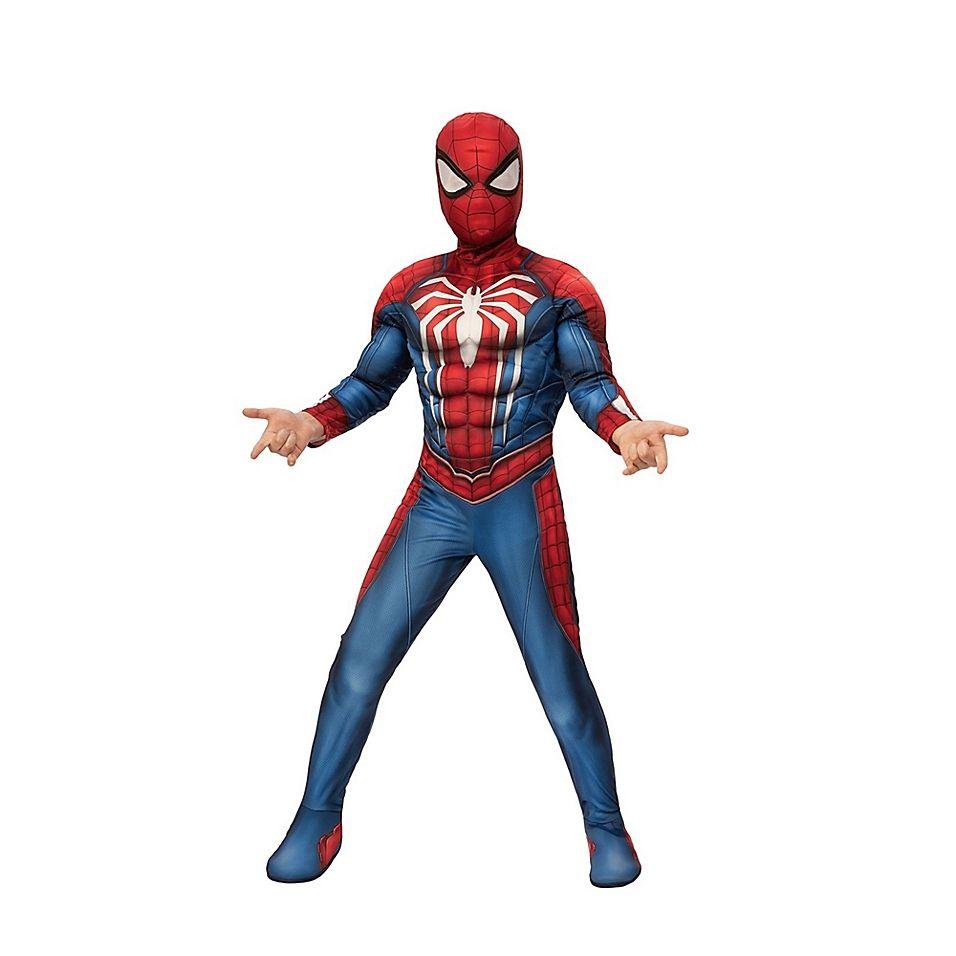 Daredevil Marvel Superhero Red Fancy Dress Up Halloween Deluxe Adult Costume