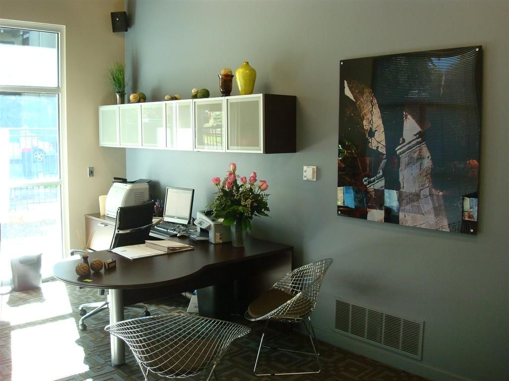 Office Furniture: Nuvo Apartments - Denver, CO