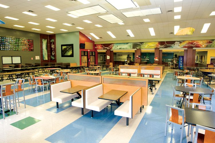 Palmer Hamilton School Flip Pinterest School Design Cafeteria Design And Commercial Interiors