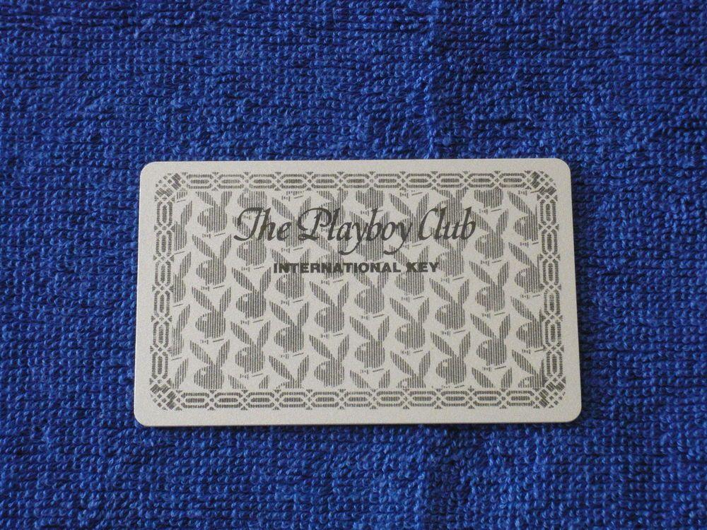 Playboy Club Casino Memorabilia 1970 s Blank Membership Card New and