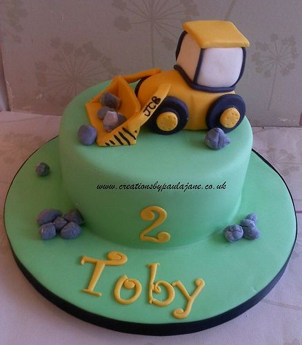 digger cake template - jcb digger cake party time pinterest cake birthday