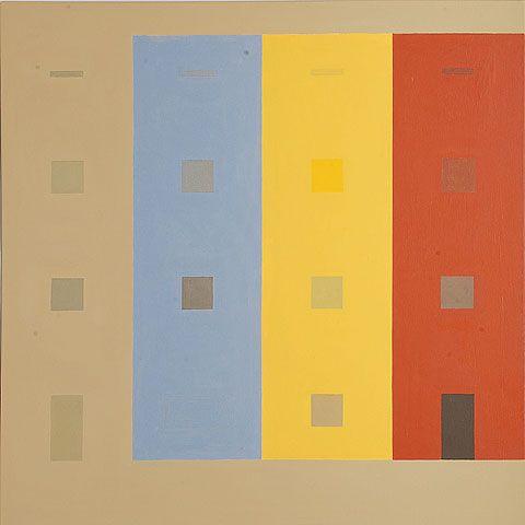 Bruno Taut drei Farben
