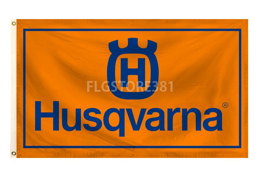 Husqvarna Motorcycles Flag Motorsport Racing Banner Custom Logo Motorcycle Flags Motorcycles Logo Design Custom Flags