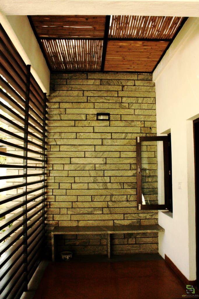 Residence For Talwar Rustic Style Balcony Veranda Terrace By De Square Rustic Terrace Design Rustic Style Terrace