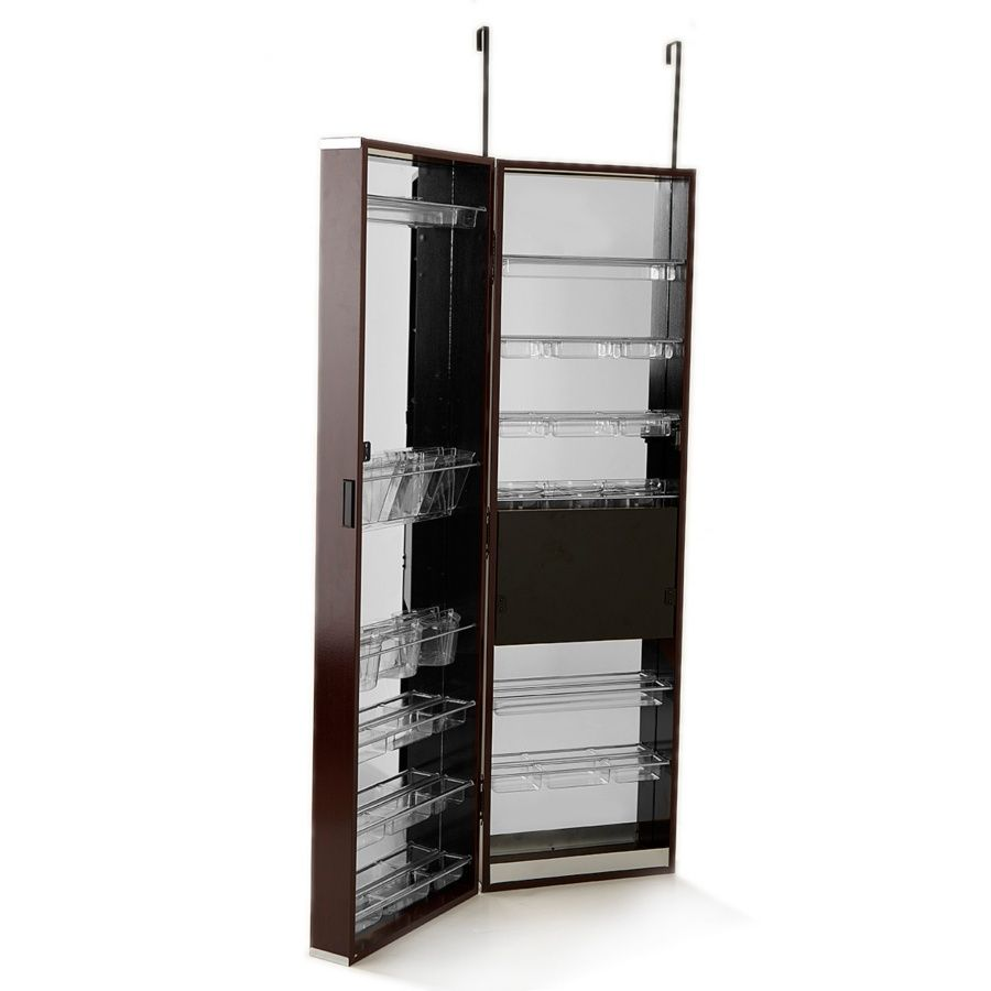 Over-the-Door Mirrored Hanging Beauty Armoire at HSN.com ...
