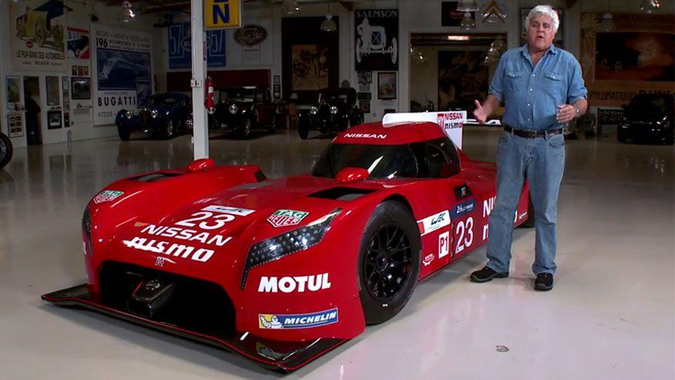 Jay Leno Elon Musk Take The Tesla Cybertruck For A Joyride Nissan Gt R Gtr Nissan