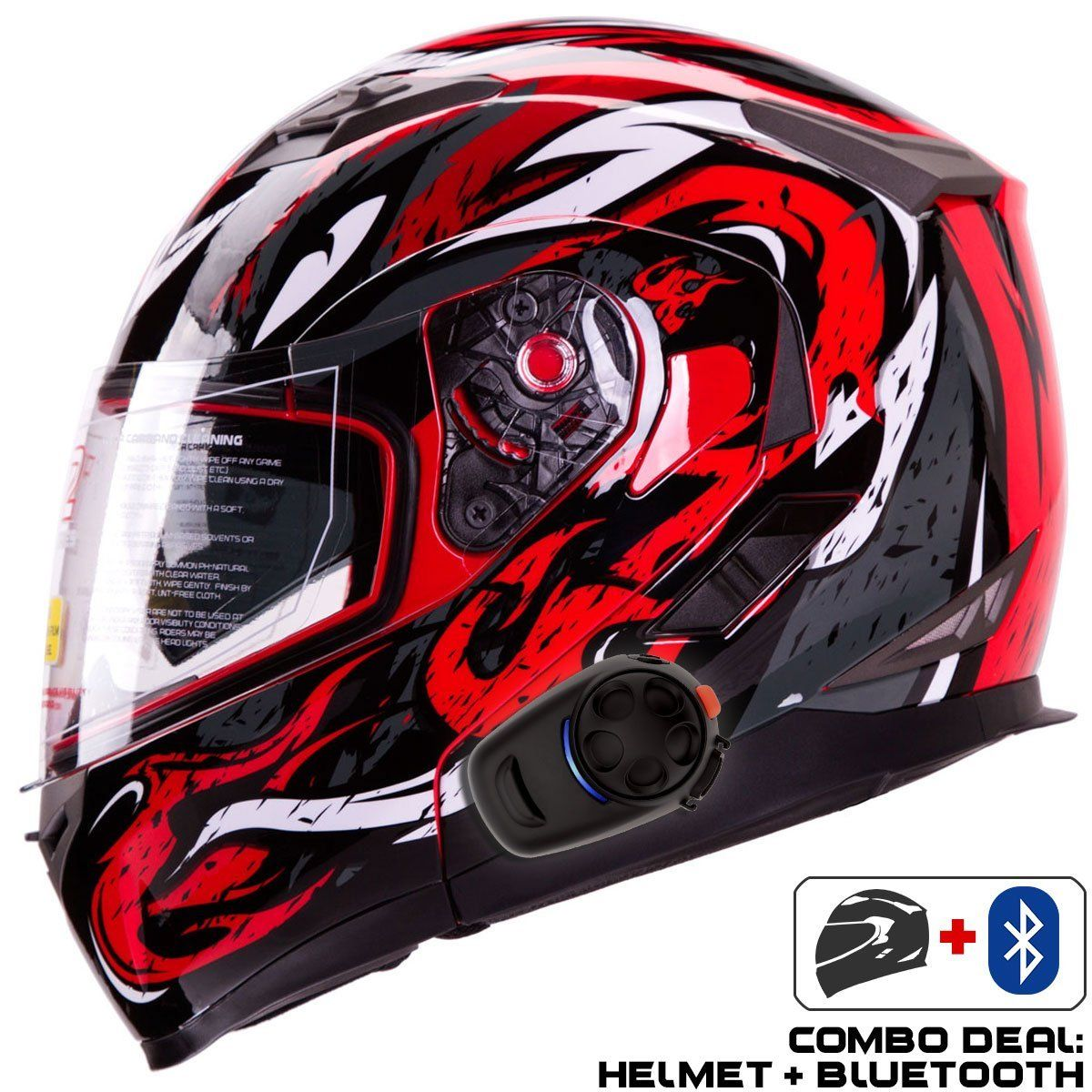 354956a7 10 Best Bluetooth Motorcycle Helmets for Modern People | Bluetooth ...