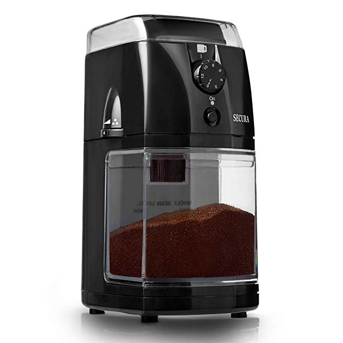 Secura Electric Burr Coffee Grinder Mill