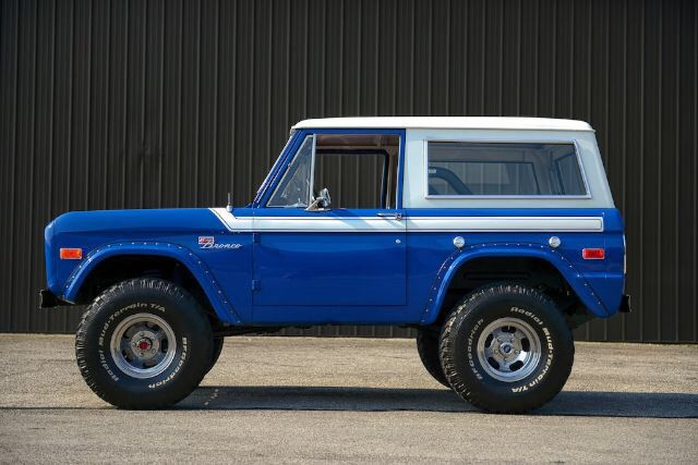 Rally Wheels Ford Bronco Classic Bronco Old Bronco