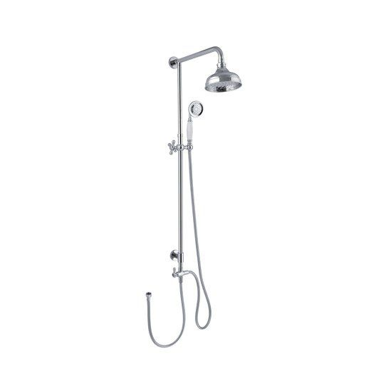 Colonne de douche sans robinetterie, SENSEA Retro Idées pour la