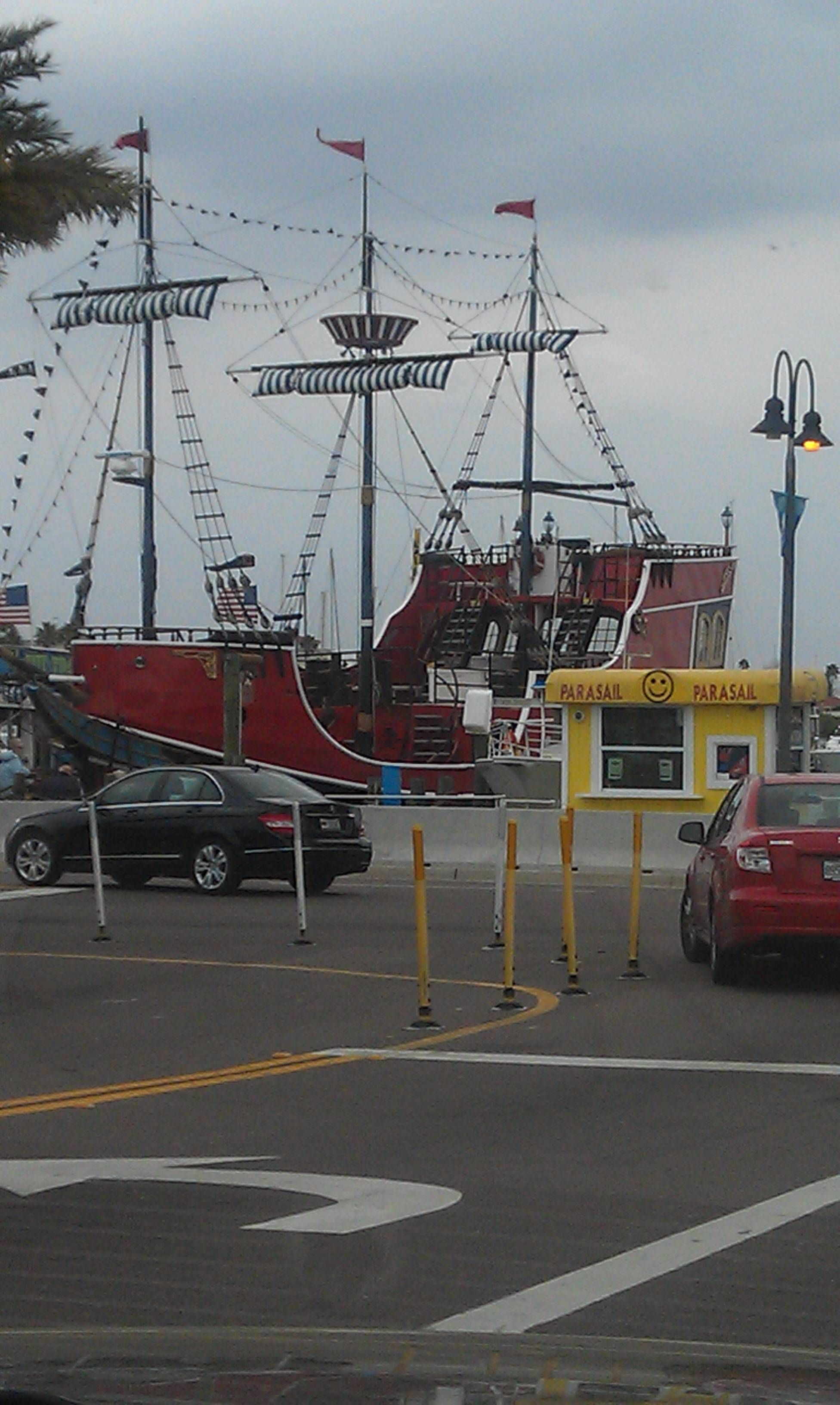 Pirate ship.. clearwAter beach Clearwater beach, Best