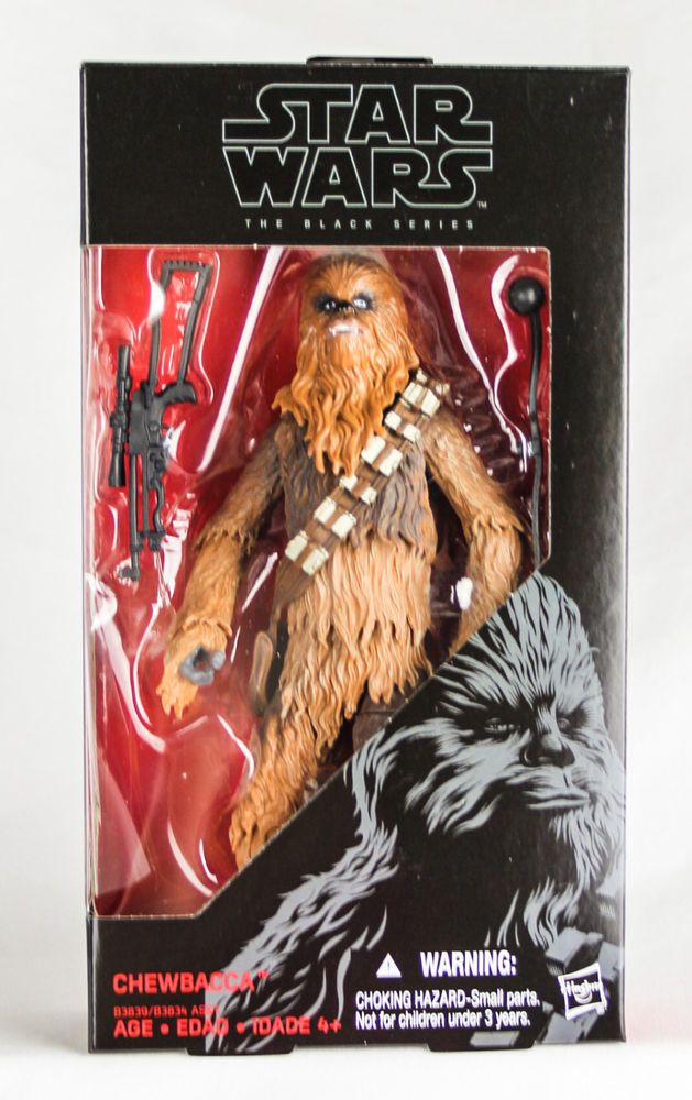 "Star Wars 6/"" figurine Black series #05 Chewbacca"