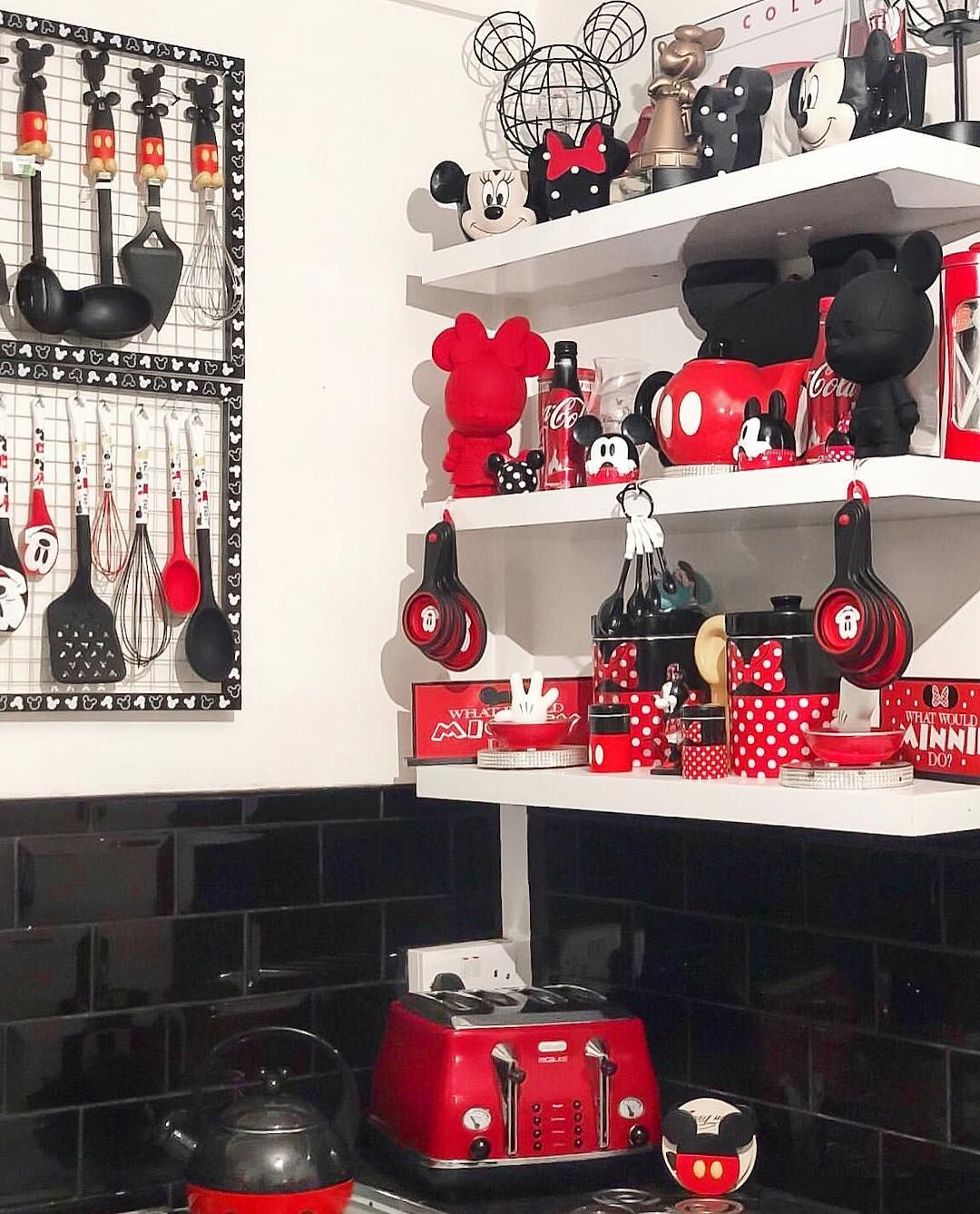 "Disney At Home on Instagram: ""Happy Friday!!! Loving this very Mickey kitchen from our friend @disney_anastasia97! Thank you so much for sharing!!️️ #mydisneyhome…"""